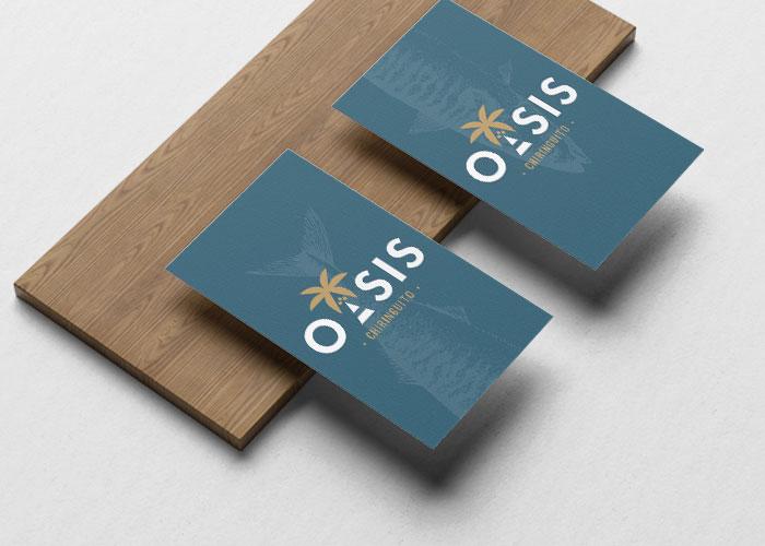 Tarjeta de Visita Oasis