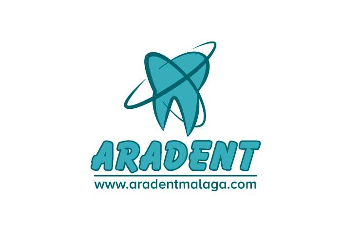 logotipo aradent